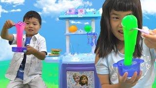 おもちゃ キッチン スライム料理 おままごと Toy Kitchen Slime thumbnail