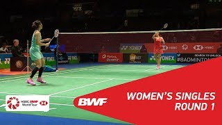 WS | Ratchanok INTANON (THA) [3] vs Michelle LI (CAN) | BWF 2018