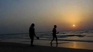מטקות בחוף בת ים חוף הדקלים אבי ושאול 2-10-2009
