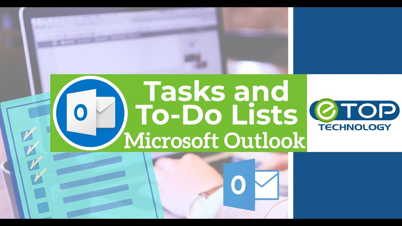 microsoft outlook 2016 tasks and to do lists youtube