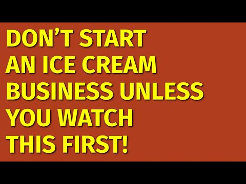 How To Start An Ice Cream Business | Including Free Ice Cream Business Plan Template