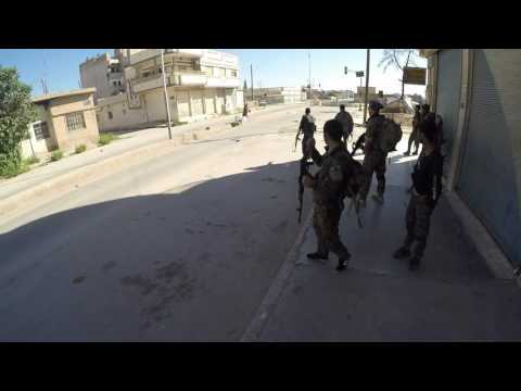 From the frontline: Americans fight ISIS in Syria