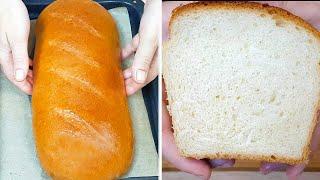 Домашний хлеб без хлебопечки Вкусный Рецепт хлеба в духовке Постный хлеб