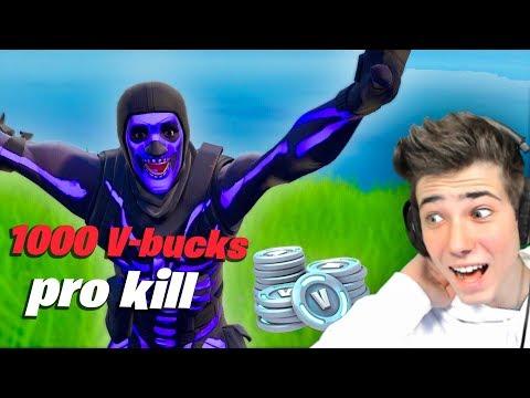 9 JÄHRIGER PRO bekommt 1000 V-bucks pro Kill!