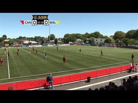 2012-2013 Canterbury Utd v Team Wellington : ASB PREMIERSHIP highlights(20.1.2013) thumbnail