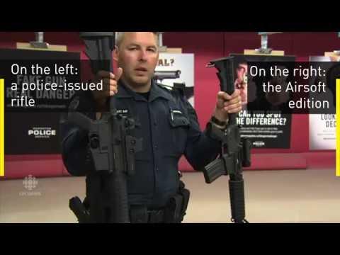 Real dangers of fake guns: Edmonton police warn public [Video slideshow, no dialogue]