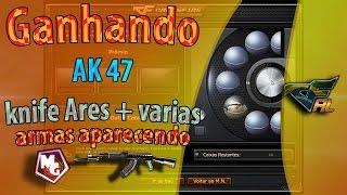 Mlk Gamer™  *Ares 2 - Ganhando Ak47 k- Ares/CF AL 2.0