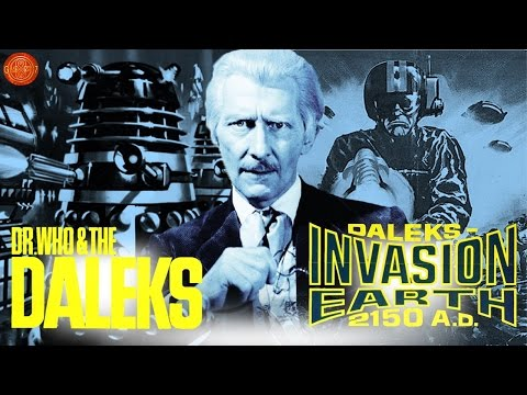 Doctor Who: Peter Cushing Dalek Movies Cinema Trailer (1965/66)