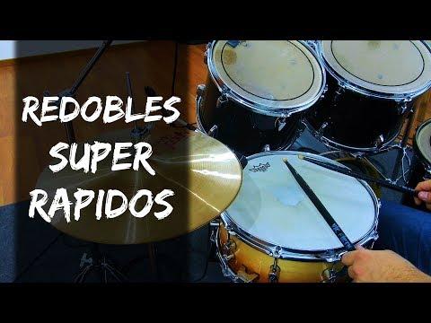Redobles SUPER RAPIDOS - Clases De Batería