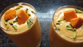 Delicious Mango Lassi Recipe | Ramzan Special Recipe | Ghare's kitchen