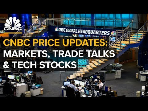 CNBC live price updates: Markets, trade talks and tech stocks  — Wednesday, Aug. 29 2018