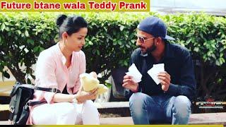 Bhavishy Btane Wala Teddy Prank on Cute Girls    NSB    Prashant Shukla