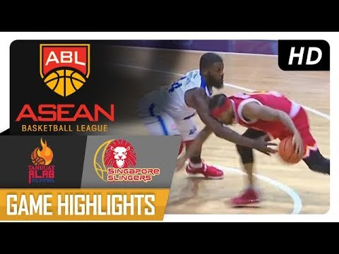 Alab Pilipinas vs. Singapore Slingers | Game Highlights | ABL 2017-2018 | Nov. 29, 2017