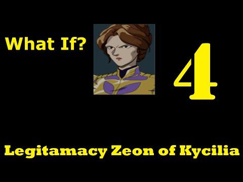 Gihren's Greed; Kycilia's Legitimacy Zeon Episode 4; Post Crash roll back
