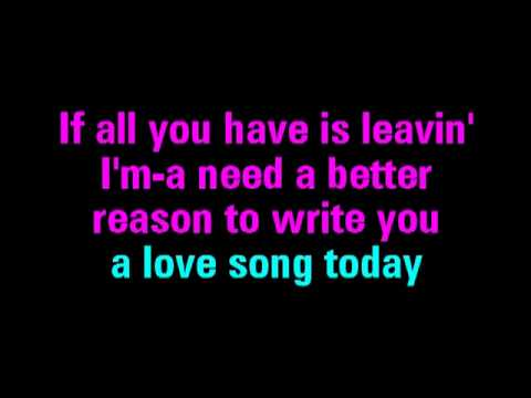 Love Song Sara Bareilles Karaoke   You Sing The Hits