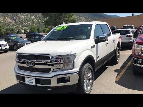 2019 F150 King Ranch for Maria at Glenwood Springs Ford