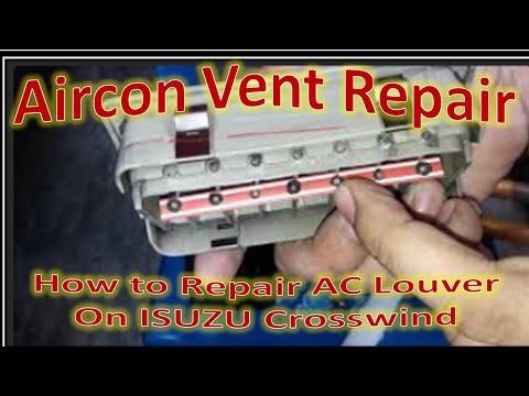 ISUZU Crosswind Aircon Vent Repair