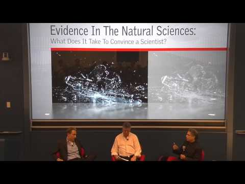 Evidence in Natural Sciences