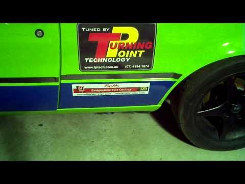 BMW E30 M42 race engine side pipe sound