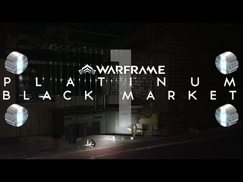 ►The Platinum Black Market (Trade Chat) #1 | Warframe PS4