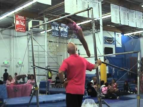Erin's Pink Meet Invitational 2011 Level -5 Younger Division Bay Aerials Gymnastics, Fremont,CA.
