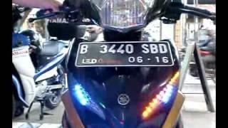 lampu led senja 8 mode jupiter mx new