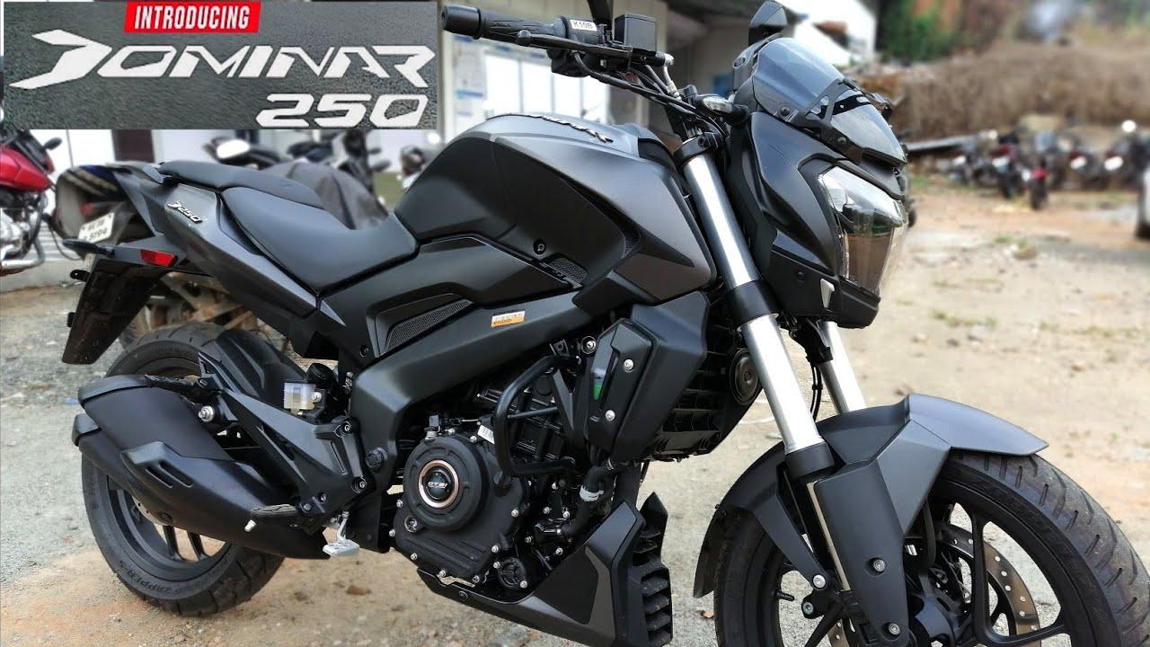 Bajaj Dominar 250 - Vine Black | Walkaround Review - 2020 Bajaj Dominar 250  | BS6 - YouTube