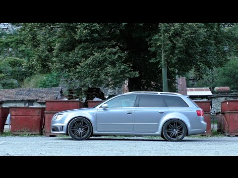 Audi RS4 B7 (2008) | Driving and Sound