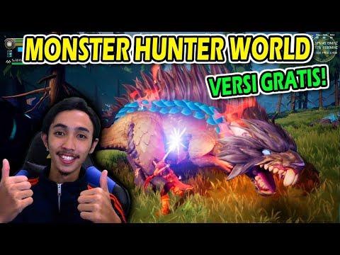 MONSTER HUNTER WORLD VERSI GRATISAN NI - DAUNTLESS GAMEPLAY