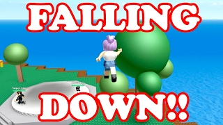 Roblox / FELL FROM THE ROOF!! / Natural Disaster Survival Ft AliceLPS / GamingwithPawesomeTV