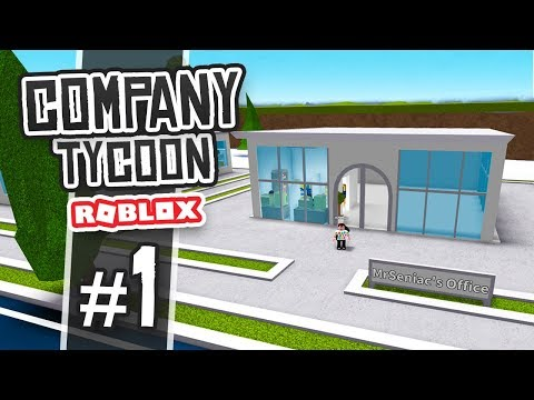 BRAND NEW OFFICE - Roblox Company Tycoon #1