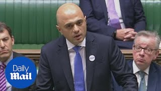 Savid Javid updates Parliament on Amesbury Novichok poisoning