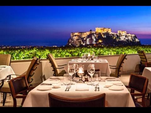 GRANDE BRETAGNE HOTEL,  Athens, Greece, near Parthenon