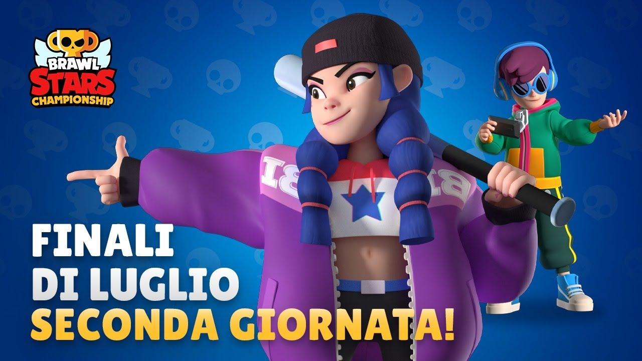 Brawl Stars CHAMPIONSHIP! Finali Luglio - 2 Giornata! Brawl Stars Live ITA!