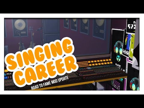 BECOME A RECORDING ARTIST! // RECORD SINGLES, WRITE LYRICS, & MORE //ROAD TO FAME UPDATE//The Sims 4