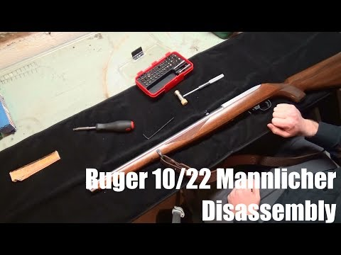 How to Disassemble a Ruger 10/22 Mannlicher International