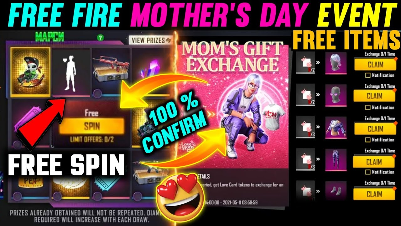 6 May free fire new event , ff new event , today new event free fire ,free fire new event