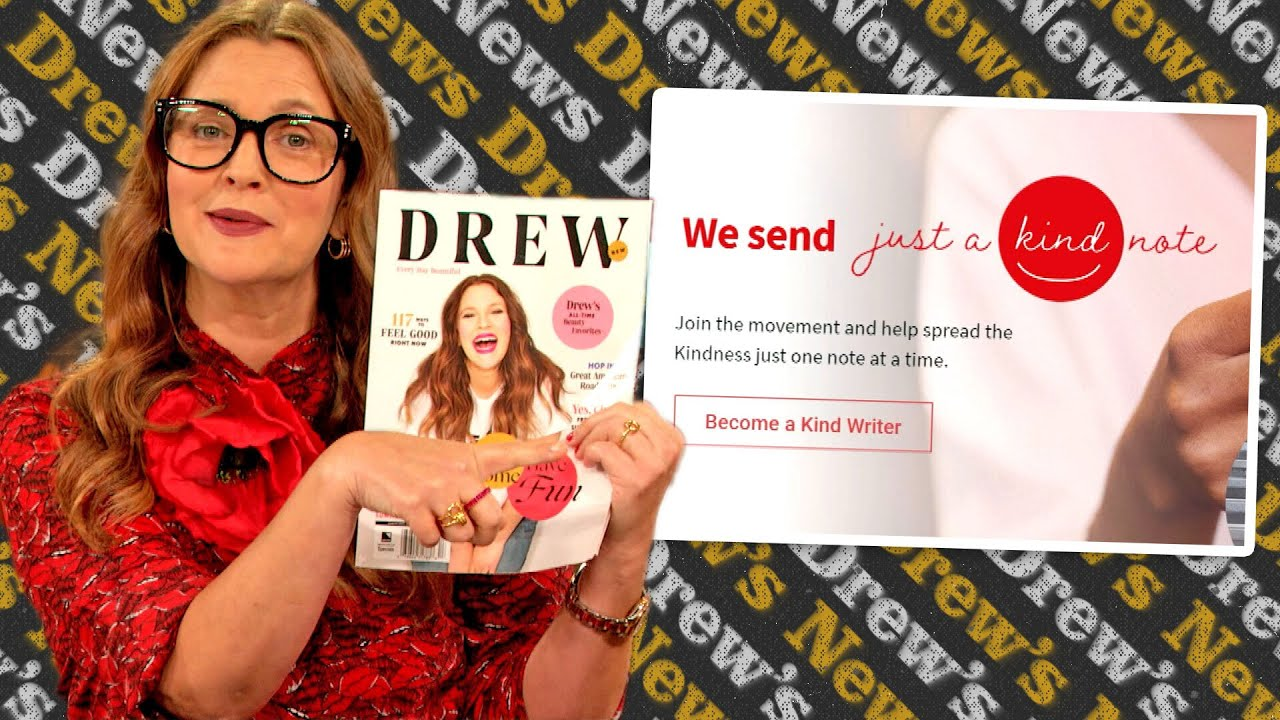 Drew Wants You to Write a Kind Letter to a Stranger-in-Need | Drew's Doggy Bag