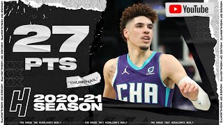 LaMelo Ball With 27 Points Against the Orlando Magic 🔥
