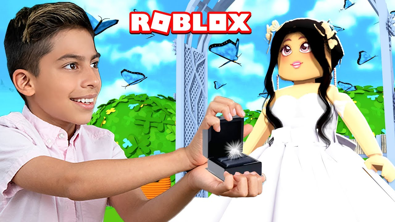 Ferran PROPOSED To a Girl in Roblox Brookhaven!! | Royalty Gaming