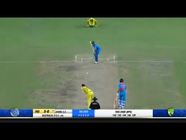 India vs Australia 3rd ODI Match Full Match Highlights..