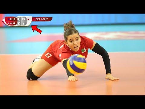 Shortest Set In Volleyball History | Russia Vs Algeria 25 - 5 (HD)
