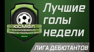 Лучшие голы недели Лига дебютантов 16 02 2020 г