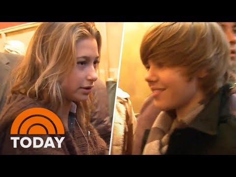 The Time Justin Bieber And Hailey Baldwin First Met In TODAY's Lobby | TODAY