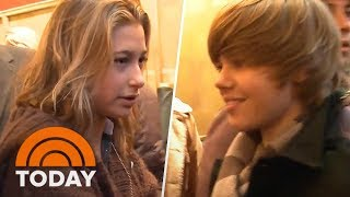 Video The Time Justin Bieber And Hailey Baldwin First Met In TODAY's Lobby | TODAY download MP3, 3GP, MP4, WEBM, AVI, FLV Agustus 2018