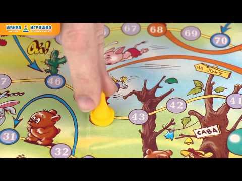 Детские настольные игры-ходилки «Алиса в Стране чудес. Винни-Пух и его друзья»