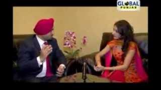 Punjabi Actress DEEP BRAR on Global Punjab TV with Gill Pardeep Part 2 interview