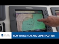 How to use a GPS and chart-plotter