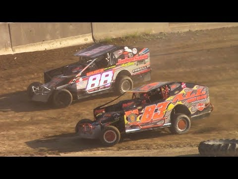 BRP Big Block Modified Heat Three | Old Bradford Speedway | 6-11-17