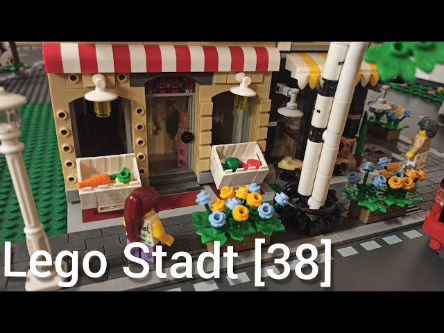 Lego Stadt Teil [38] - Mein erstes MOC, der Obstladen